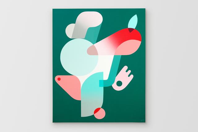 Oli-B, 'Green Fantasy', 2019, Galerie C.O.A