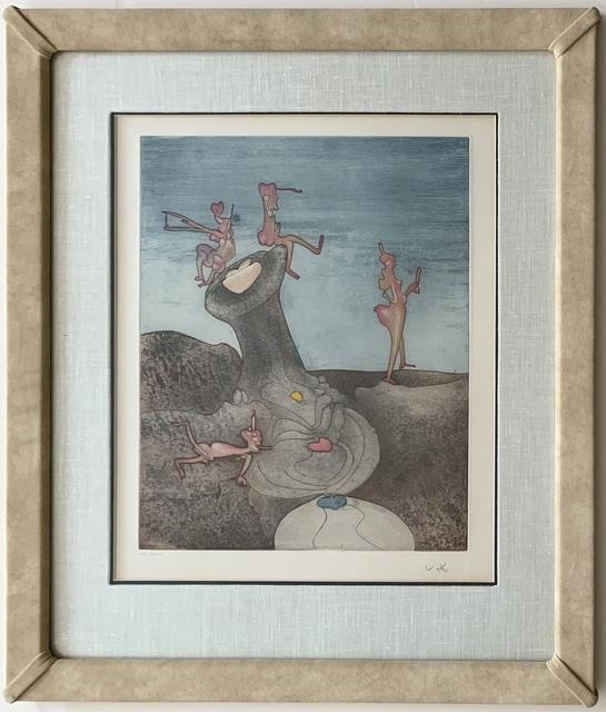 """Roberto Matta, 'Untitled (from """"Così fan tutte"""" portfolio)', 1970, Puccio Fine Art"""