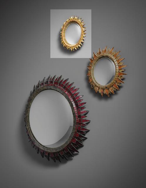 Line Vautrin, ''Chardon' mirror', 1950s, Phillips
