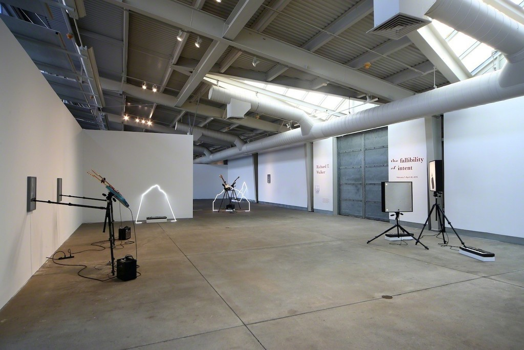 "Installation view of ""Richard T. Walker: the fallibility of intent.""  Photo: Wilfred J. Jones / di Rosa, Napa."