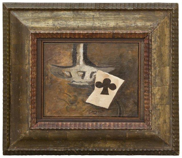 , 'Carafe et as de trèfle,' 1950, Galerie Knoell, Basel