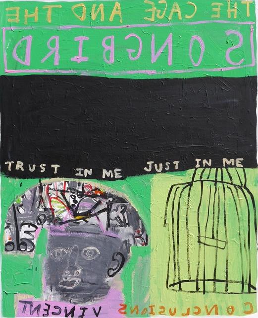 , 'The Songbird,' 2015, Cob