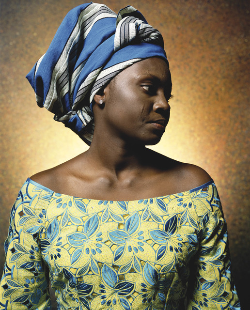 , 'Wunmi Fadipe, Sales Assistant at Investment Bank (America),' 2002, Galerie Nathalie Obadia
