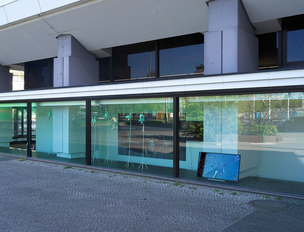 Installation View, [ERP Projekt], Wieland Schönfelder, The Invisibility Of The Machine