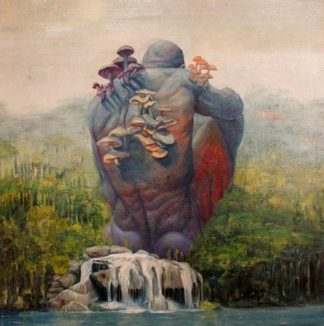 , 'Rainforest Giant,' 2018, Galerie Youn