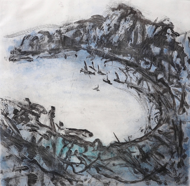 Terese McManus, 'Willoughby Bay', 2018, Open Bite Printmakers