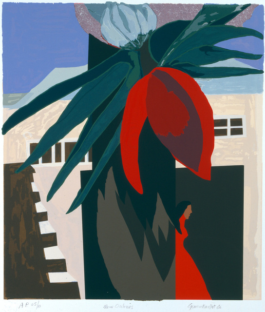 Gwendolyn Knight, 'New Orleans', 2001, Print, Serigraph on paper, DC Moore Gallery