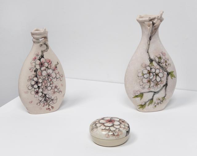 , 'Blossom Vase I, Blossom Vase II, Blossom Box,' 2016, Jane Hartsook Gallery