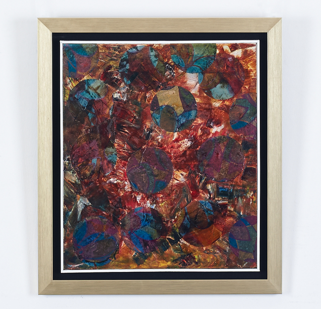 , 'Work Brown and Blue ,' 1990, H.ARTS COLLECTIVE