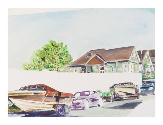 , 'Street Boats 4,' 2017, Gallery 16
