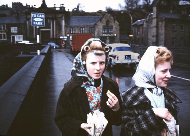 , 'Mill Girls, Elland, Yorkshire,' 1965, Beetles + Huxley