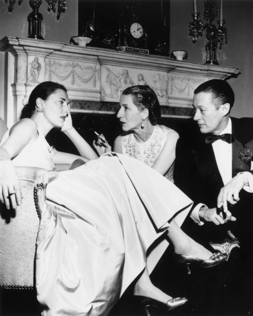 , 'Park Avenue Party: Slim Hawks, Diana Vreeland, and her husband Reed Vreeland at Kitty Miller's New Year's Eve party in her home on Park Avenue in New York,' 1952, Staley-Wise Gallery