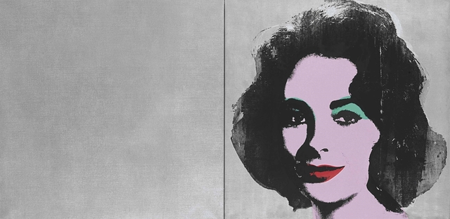 Andy Warhol, 'Silver Liz (diptych)', 1963-1965, Spray enamel, synthetic polymer and silkscreen inks on canvas diptych, Christie's