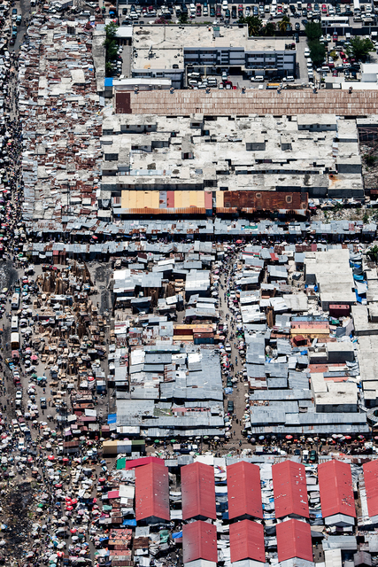 , 'Chaos urbain Port-au-Prince,' ca. 2010, The Print Atelier