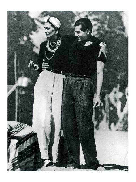, 'Gabrielle Chanel et Serge Lifar,' 1937, Les Arts Décoratifs
