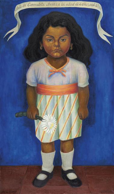 Diego Rivera, 'Retrato de Carmelita Avilés', 1937, Gary Nader