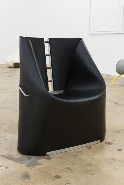 , 'Black Rubber Chair,' ca. 1990, Nina Johnson