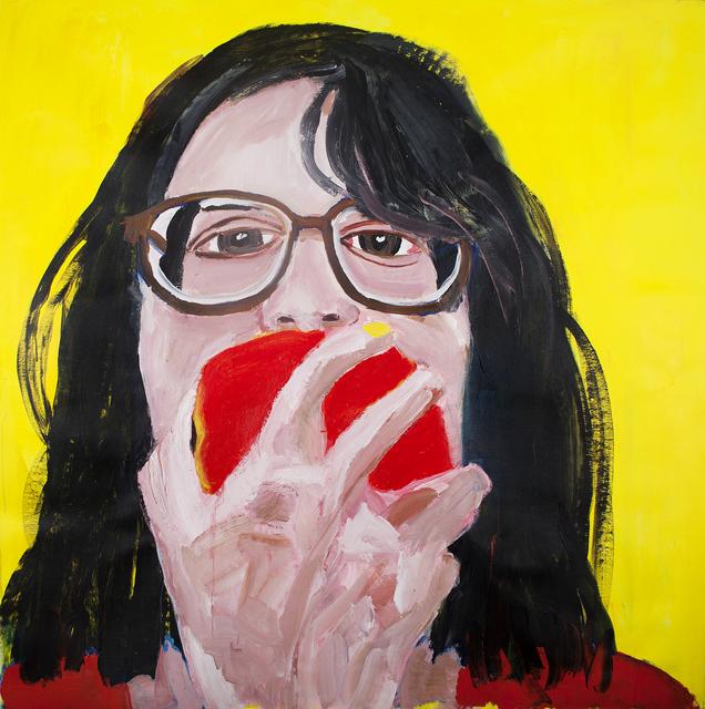 Gimena Herrera, 'Autorretrato comiendo manzana.', 2018, Haimney