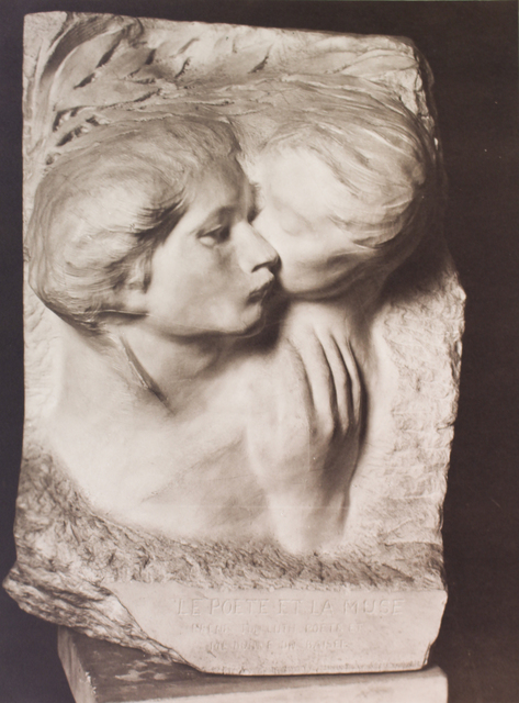 , 'Le Poète et la Muse (The Poet and the Muse),' ca. 1915, Huxley-Parlour