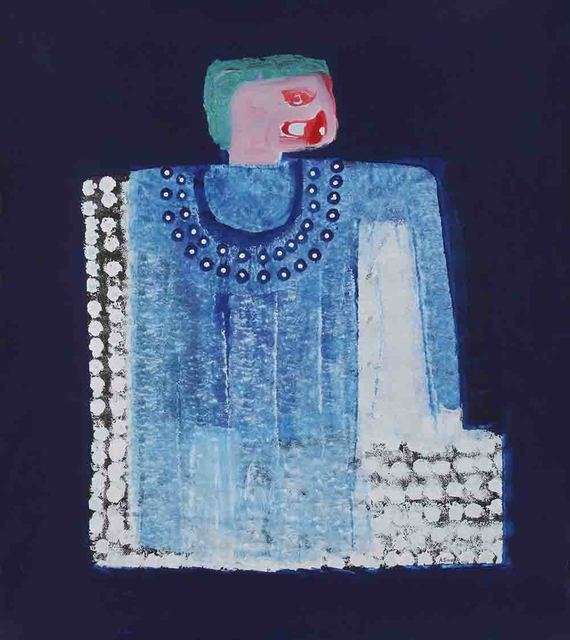 , 'La Robe bleue,' 2015, Magnin-A