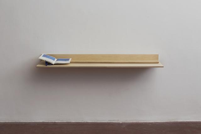 , 'Blue II, Blue III,' 2016, Dvir Gallery