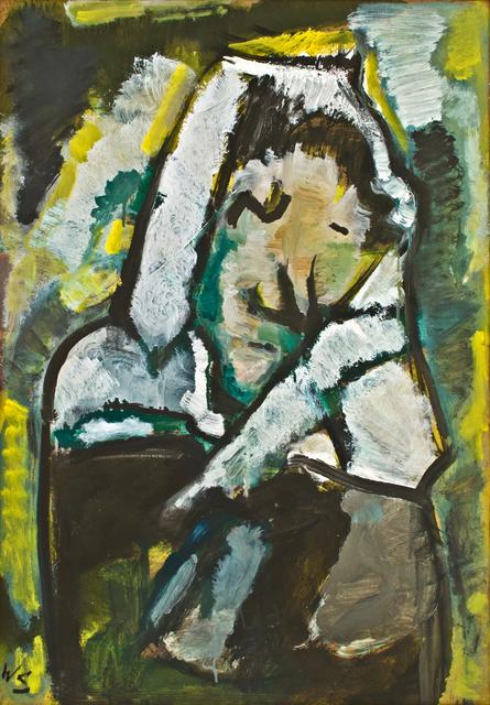, 'Frierende (Freezing woman),' 1964, Hagemeier