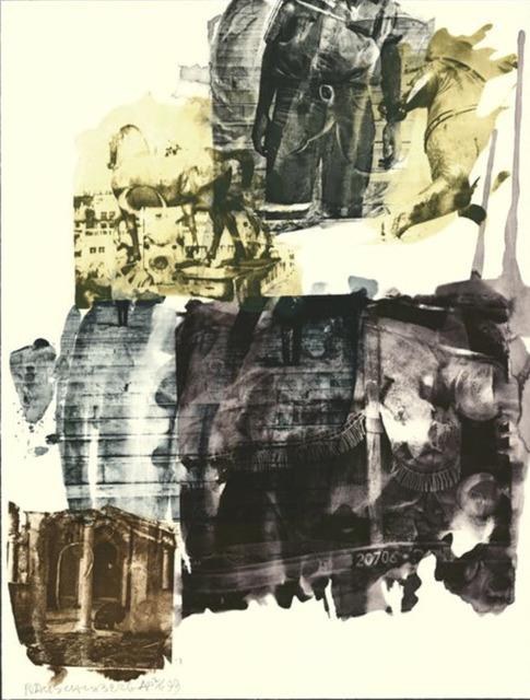 Robert Rauschenberg, 'Eagle Eye (Ruminations)', 1999, Heather Gaudio Fine Art