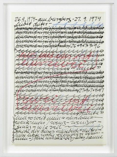 , 'Untitled,' 1974, P420