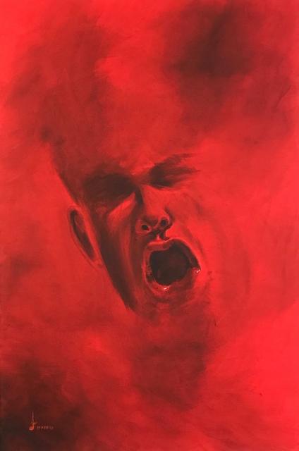 , 'Smoke Screen - Raging Red,' 2018, Addicted Art Gallery