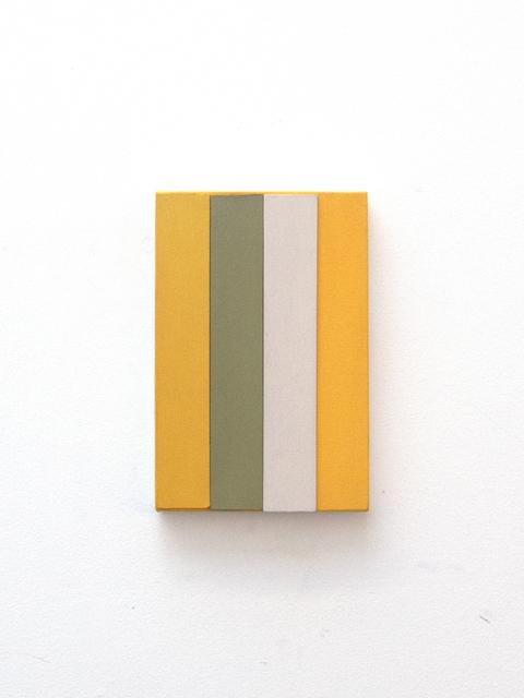 , 'tela com tiras ,' 2015, Galeria Nara Roesler