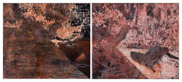 , 'Underwork (I & II) - diptych,' 2017, Goodman Gallery