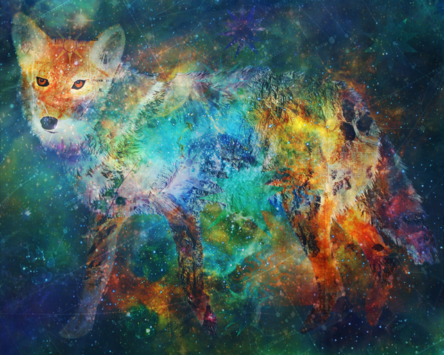 , 'Trickster Nebula,' 2016, Joshua Tree Art Gallery