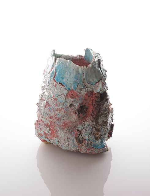 , 'Raining Stone 6 Container,' 2017, Sarah Myerscough Gallery