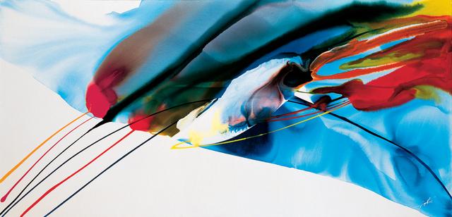 Paul Jenkins, 'Phenomena Hit Tiger at Center', 1968, Robert Green Fine Arts