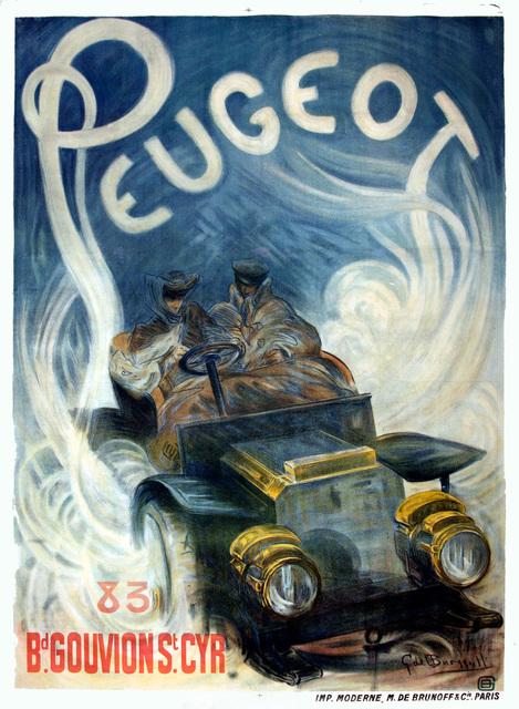 , 'Peugeot,' ca. 1904, Omnibus Gallery