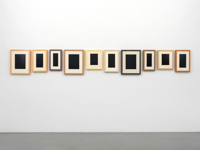 , 'Collection of Ten Plaster Surrogates,' 1982-1992, Petzel Gallery
