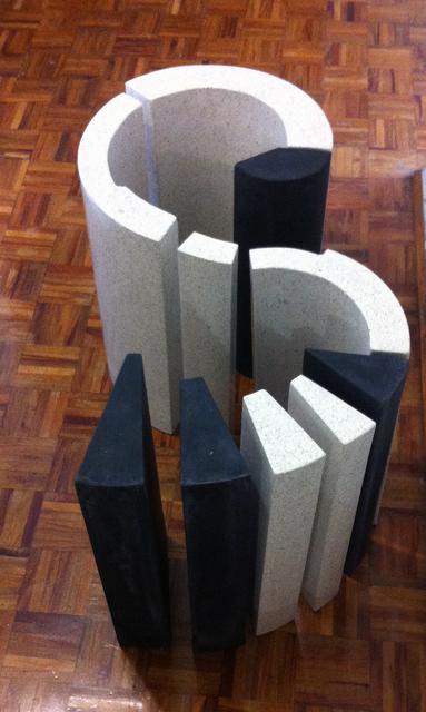 , 'Crop Negro-Terrazo,' 2015, Galería Bacelos