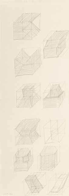 Sol LeWitt, 'Working Drawing', 1981, Heritage Auctions