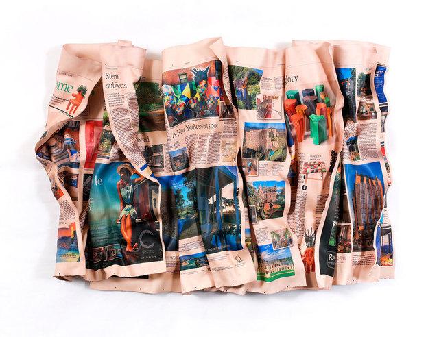 , 'Financial Times House & Home 04-14-18,' 2018, Galerie de Bellefeuille