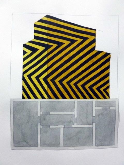 Manuel Saro, 'series Dazzle-Vauban y Carteles de azotea', 2015, Blanca Soto Arte