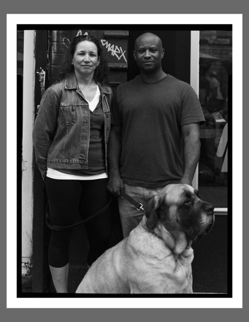 , 'Monique & Claude with Bella, NYC,' , Soho Photo Gallery