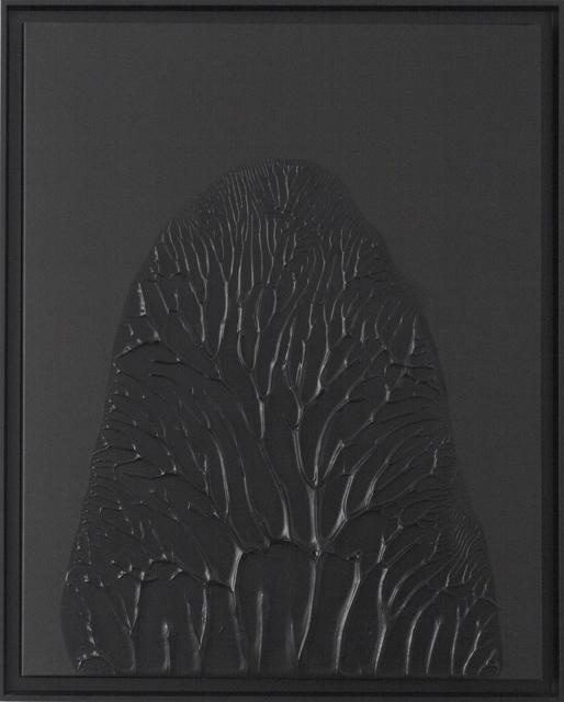, 'Peinture Noire 30F #1,' 2014, 22,48m2
