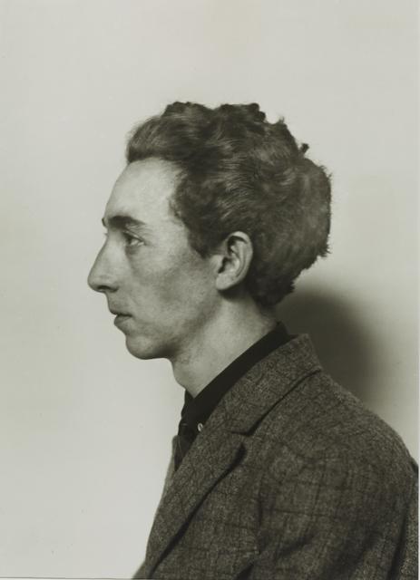 , 'Sculptor [Hans Schmitz],' 1923, Galerie Julian Sander