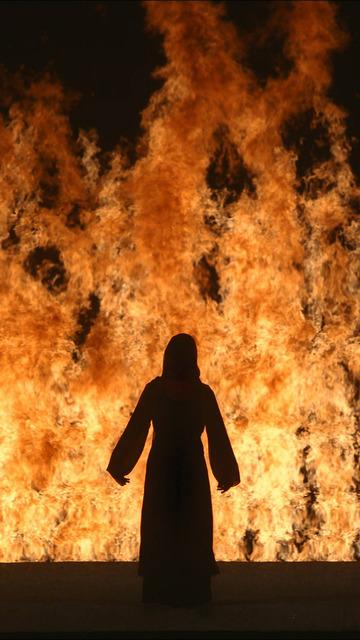 , 'Fire Woman,' 2005, Guggenheim Museum Bilbao
