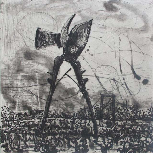 William Kentridge, 'West Coast Series (Set of 5 Prints), Seceteurs', 2010, David Krut Projects