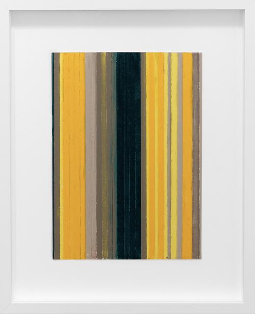 , 'Color Study, Yellow/Green 1,' 2014, Newzones
