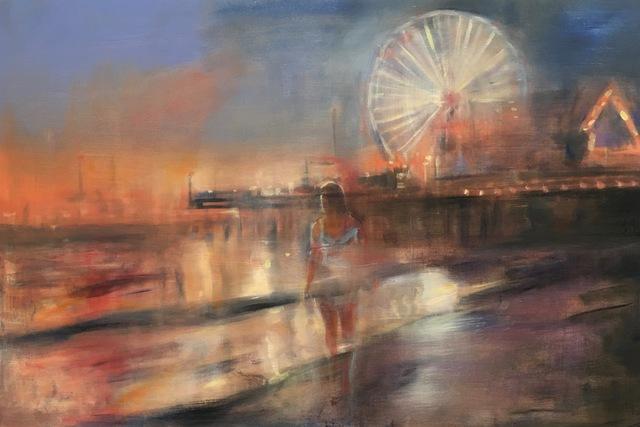 Gregg Chadwick, 'Santa Monica Nocturne', 2019, Castelli Art Space