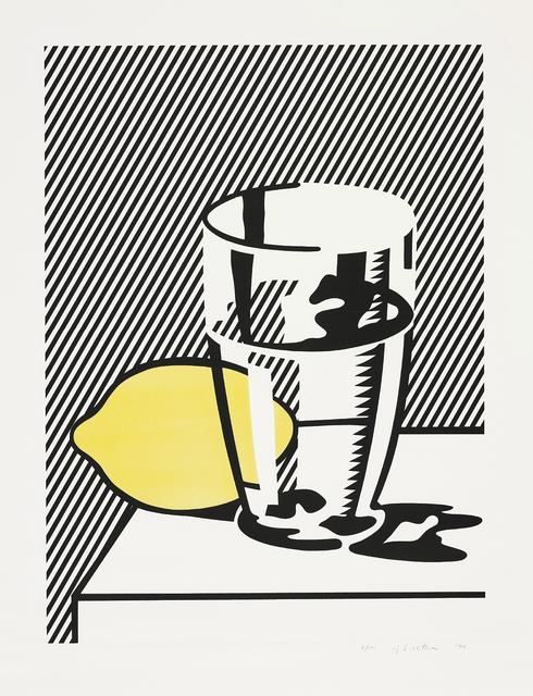 Roy Lichtenstein, 'Untitled (Still Life with Lemon and Glass), from For Meyer Schapiro', 1974, Phillips