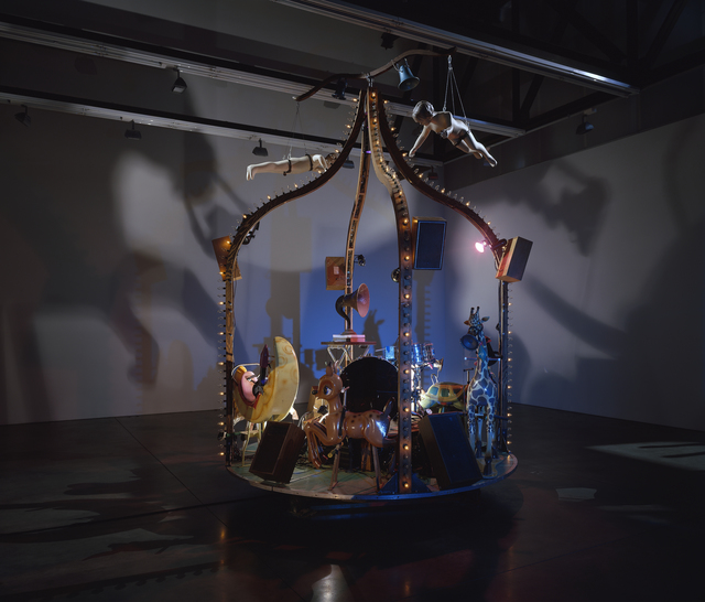 Janet Cardiff & George Bures Miller, 'The Carnie', 2010, Installation, Mixed media installation including moving carousel with synchronized audio and lighting, Luhring Augustine