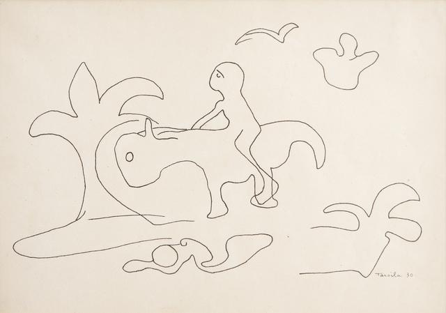 Tarsila do Amaral, 'Desenho Antropofágico de saci-pererê III', 1930, Galeria Frente